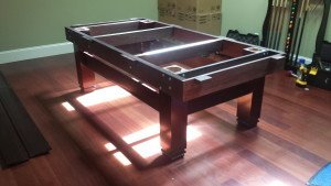 Correctly performing pool table installations, Worcester Massachusetts