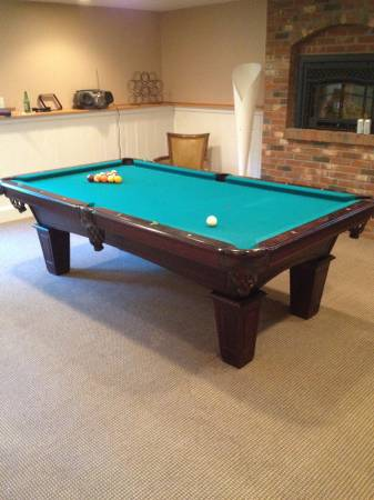Solo 174 Worcester Amf Playmaster 8 180 Pool Table 21