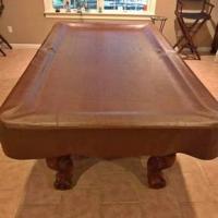 American Heritage 8ft Billiard Table
