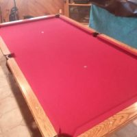 Pool Table And Everything You Need
