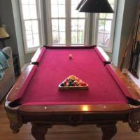 Craft Master Pool Table