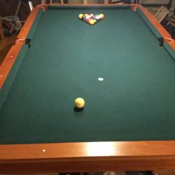 One Piece Slate Pool Table