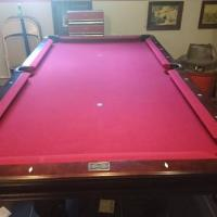 7´ Brunswick Certified Premium Slate Pool Table