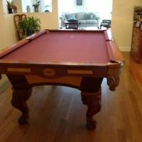 8' Spenser Billiards Pool Table For Sale